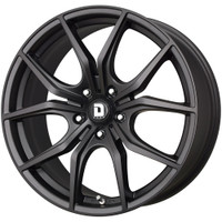 Drag Wheels Dr-67 19x8 5x120 Flat matte Black et38 Rims (DR67198233872BF1)