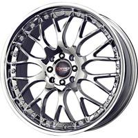 Drag Wheels DR-19 17x7.5 5x100 5x114.3 et45 Chrome rims