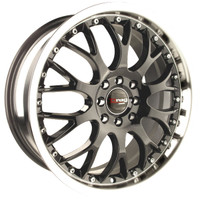 Drag Wheels DR-19 17x7.5 5x100 5x114.3 et45 Gun Metal rims