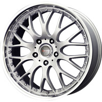 Drag Wheels DR-19 16x7 5x100 5x114.3 et40 Silver rims