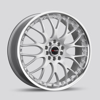 Drag Wheels DR-19 17x7.5 5x100 5x114.3 et45 Silver rims