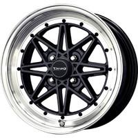 Drag Wheels DR-20 15x7 4x114.3 et0 Gloss Black rims