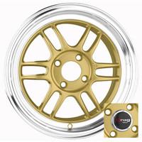 Drag Wheels DR-21 15x7 4x100 Gold rims