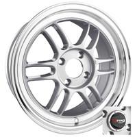 Drag Wheels DR-21 15x7 4x100 Silver rims