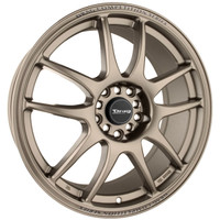 Drag Wheels DR-31 17x8 5x100 5x114.3 et35 Rally Bronze Full rims