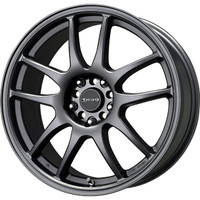 Drag Wheels DR-31 18x8 5x100 5x114.3 et48 Charcoal Gray Full rims