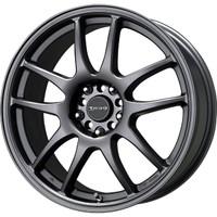 Drag Wheels DR-31 18x9 5x100 5x114.3 et15 Charcoal Gray Full rims