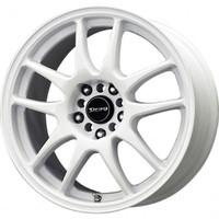 Drag Wheels DR-31 15x6.5 4x100 4x114.3 White Full rims