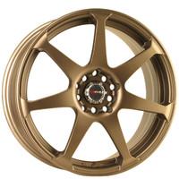 Drag Wheels DR-33 17x7.5 5x100 5x114.3 Rally Bronze Full rims