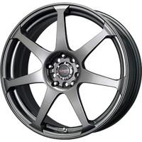 Drag Wheels DR-33 18x7.5 5x100 5x114.3 Charcoal Gray Full rims
