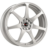 Drag Wheels DR-33 16x7 5x100 5x114.3 Silver Full rims