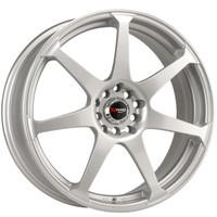 Drag Wheels DR-33 17x7.5 5x100 5x114.3 Silver Full rims