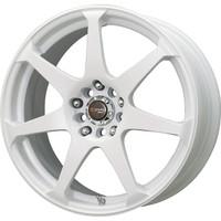 Drag Wheels DR-33 17x7.5 5x100 5x114.3 White Full rims