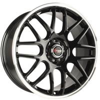 Drag Wheels DR-34 17x7.5 5x100 5x114.3 et45 Gloss Black rims