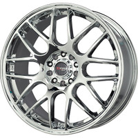 Drag Wheels DR-34 17x7.5 5x100 5x114.3 et45 Chrome rims