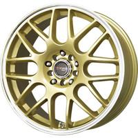 Drag Wheels DR-34 17x7.5 5x100 5x114.3 et45 Gold rims