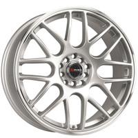 Drag Wheels DR-34 15x7 5x100 5x114.3 Silver rims