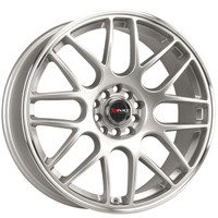 Drag Wheels DR-34 17x7.5 5x100 5x114.3 et45 Silver rims