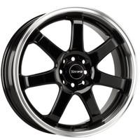 Drag Wheels DR-35 17x7.5 5x100 5x114.3 Gloss Black rims