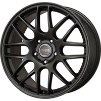 Drag Wheels DR-37 19x9.5 5x114.3 et20 Flat Black Full Mesh rims
