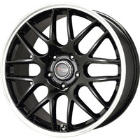 Drag Wheels DR-37 19x8 5x114.3 et40 Gloss Black Mesh rims