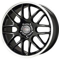 Drag Wheels DR-37 19x8 5x112 et32 cb66.56 Gloss Black Mesh rims