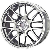 Drag Wheels DR-37 17x7.5 5x120 et42 cb72.56 Chrome rims