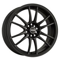 Drag Wheels DR-38 18x8 5x100 5x114.3 et35 Flat Black Full rims