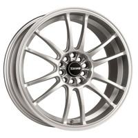 Drag Wheels DR-38 18x8 5x100 5x114.3 et35 Silver rims