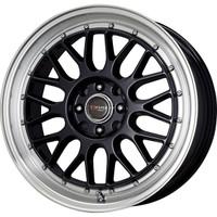 Drag Wheels DR-44 15x7 4x100 4x114.3 Gloss Black rims