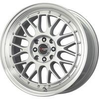 Drag Wheels DR-44 17x7.5 5x100 5x114.3 Silver rims