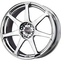 Drag Wheels DR-33 17x7.5 5x100 5x114.3 Chrome rims