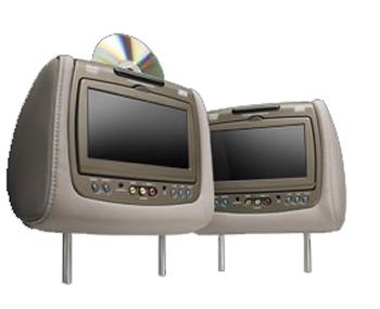 ford flex invision headrest headphones  dvd remote