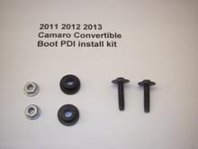 Camaro Convertible Boot PDI Install Kit for the 2011, 2012, ,2013 or 2014 Camaro