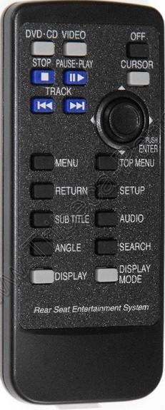 DVD Remote for 2006-2011 Subaru Tribeca - AudioVideo2go com