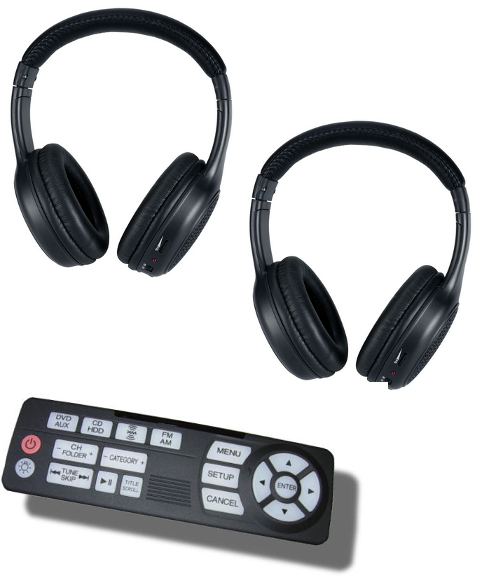 Acura MDX Headphones And Remote