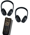 Wireless headphones and remote for the Mercury Mountaineer