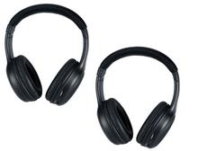 Infiniti QX  Leather Look Two Channel IR Headphones 2006 2007 2008 2009 2010 2011 20012 2013 2014 2015 2016 2017