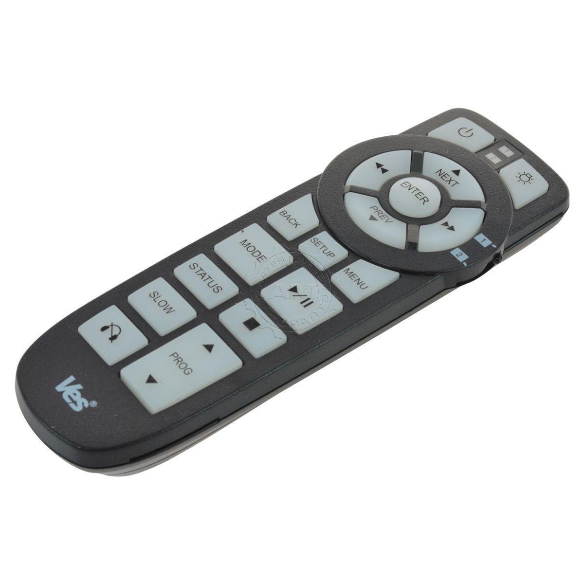 2008-2018 Dodge Grand Caravan VES DVD Remote Control