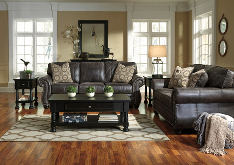 The Breville Charcoal Living Room Collection Miami