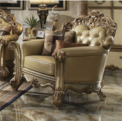 Huston Gold Living Room Collection Miami Direct Furniture