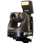 Enable PTZ Series Camera  The Enable PTZ Series Camera is truly the most advanced image acquisition solution for Photo Identification applications available. If you are in an environment that is consistently variable whether it be horizontal, vertical, or distance, the PTZ is the best solution for you. A single click within your Photo ID software will get you centered instantly.