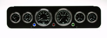R-Model Dash Kit with original size Stewart Warner gauges