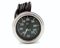 "Pictured:  Gauge - Oil Temperature, 140-325* F, 2-1/16"", mechanical, Stewart Warner, 72"" capillary (Part # STW-82327-72)."