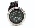 """Pictured:  Gauge - Oil Temperature, 140-325* F, 2-1/16"""", mechanical, Stewart Warner, 72"""" capillary (Part # STW-82327-72)."""