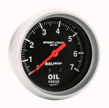 Gauge, 0-100 psi Oil Pressure