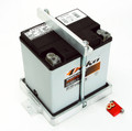 Battery Tray, fits # BAT-ETX30L dry cell race battery 6.625 L x 5.1875 W x 6.875 H