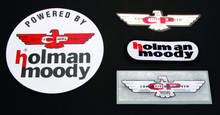 Pictured:  Holman Moody decals.