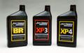 Pictured:  (Left to right) Break-In oil, Joe Gibbs Racing MicroZol BR; Race Oil, Joe Gibbs Racing MicroZol XP3; Race/Flat Tappet Oil, Joe Gibbs Racing MicroZol XP4.