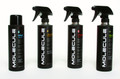 Pictured:  (Left to right) Molecule Wash, Molecule Spot Cleaner, Molecule Protector, Molecule Refresh.